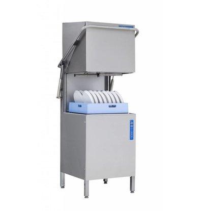 Rhima Geschirrspülmaschine 60x40cm | Rhima WD-6 PLUS GRÜN | Inkl. Breaktank und Drucksteigerungspumpe zum Nachspülen