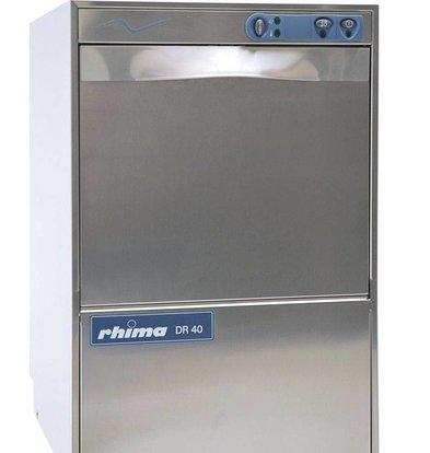 Rhima Geschirrspülmaschine 40x40cm | Rhima DR40S | Inkl. Weichspüler | 460x545x715mm