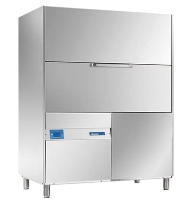 Rhima Topf- und Utensilienspülmaschinen 135x70cm Rhima DR 480E PLUS | Inkl. Breaktank und Drucksteigerungspumpe zum Nachspülen