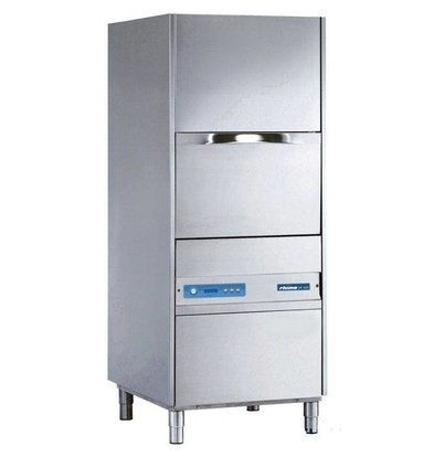 Rhima Topf- und Utensilienspülmaschinen 55x66cm Rhima DR 165E PLUS | Inkl. Breaktank und Drucksteigerungspumpe zum Nachspülen