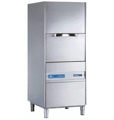Rhima Topf- und Utensilienspülmaschinen 55x66cm | Rhima DR 180E PLUS | Eingabehöhe 810mm Inkl. Breaktank und Drucksteigerungspumpe zum Nachspülen