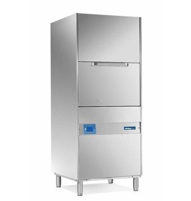 Rhima Topf- und Utensilienspülmaschinen 70x70cm Rhima DR 265E PLUS | Inkl. Breaktank und Drucksteigerungspumpe zum Nachspülen