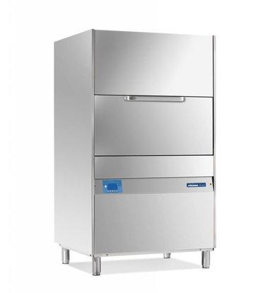 Rhima Topf- und Utensilienspülmaschinen 85x70cm | Rhima DR 365E PLUS | Inkl. Breaktank und Drucksteigerungspumpe zum Nachspülen