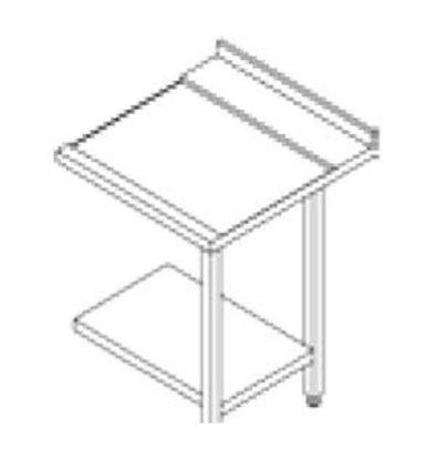 Rhima Seitentisch Edelstahl (Rechts) | Rhima 3000 0267