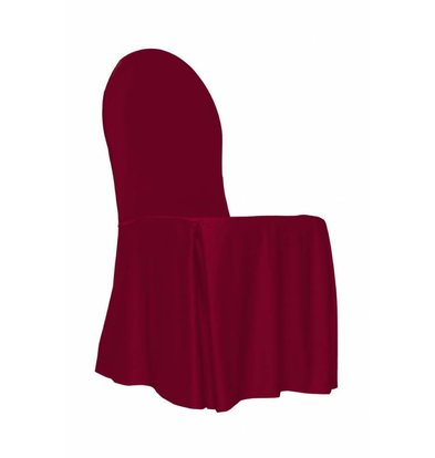 Unicover Stuhlabdeckung Bankett | Eine Größe | Bordeaux