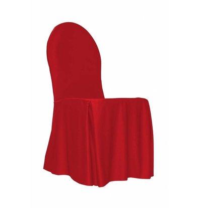 Unicover Stuhlabdeckung Bankett | Eine Größe | Rot