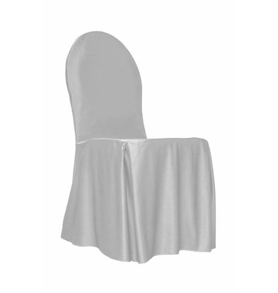 Unicover Stuhlabdeckung Bankett | Eine Größe | Weiß