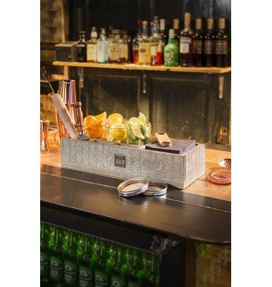 Bar Professional Barbox   Holz Verschiedene Fächer
