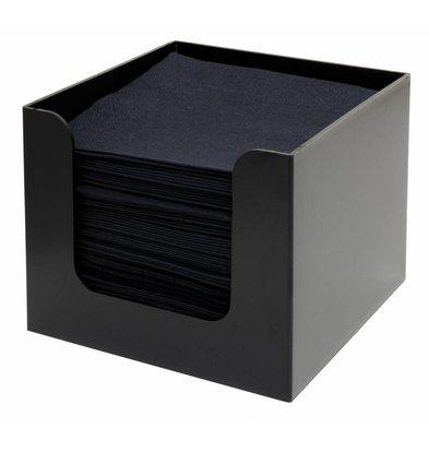 Bar Professional Serviettenhalter | Schwarzer Kunststoff