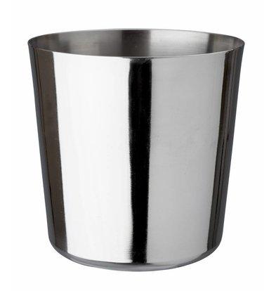 Bar Professional Vorspeise Tasse Edelstahl 9x9cm