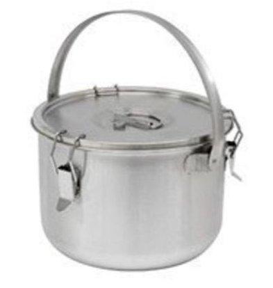 Thermosteel Thermosteel Suppenbehälter | 10 liter | Mit Henkel | Edelstahl AISI 304 Doppelwandig | Stapelbar |Ø30cm x (h)22.5cm