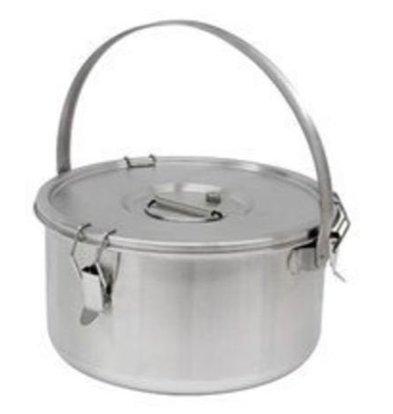 Thermosteel Thermosteel Suppenbehälter | 15 liter | Mit Henkel | Edelstahl AISI 304 Doppelwandig | Stapelbar | Ø36cm x (h)21.5cm