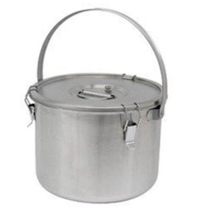 Thermosteel Thermosteel Suppenbehälter | 20 liter | Mit Henkel | Edelstahl AISI 304 Doppelwandig | Stapelbar | Ø36 x (h) 28,5