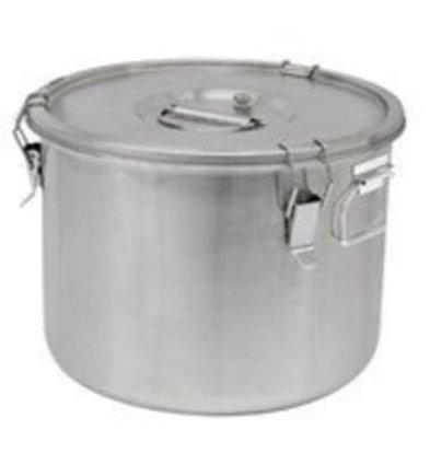 Thermosteel Thermosteel Suppenbehälter | 20 liter | Griffen Seitlich | Edelstahl AISI 304 Doppelwandig | Ø36cm x (h)28.5cm