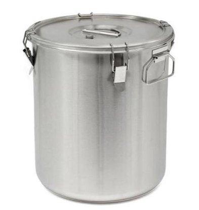Thermosteel Thermosteel Suppenbehälter | 30 liter | Griffen Seitlich | Edelstahl AISI 304 Doppelwandig | Stapelbar | Ø36cm x (h)40cm