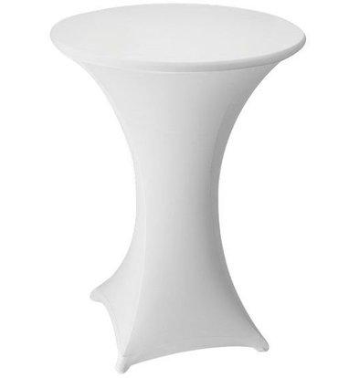 Unicover Cocktail-Tischhusse Stretch Venus | Weiß Erhältlich in 3 Größen