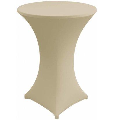 Unicover Cocktail-Tischhusse Stretch Venus | Sahne | Erhältlich in 3 Größen