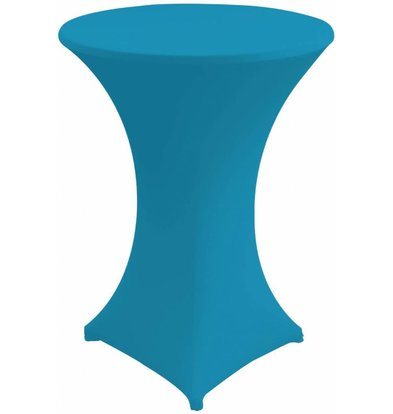Unicover Cocktail-Tischhusse Stretch Venus | Türkis | Erhältlich in 3 Größen