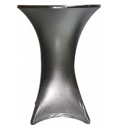 Unicover Cocktail-Tischhusse Stretch Venus | Silber | Erhältlich in 3 Größen