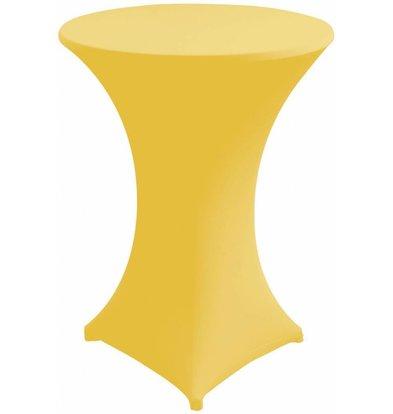 Unicover Cocktail-Tischhusse Stretch Venus | Gelb | Erhältlich in 3 Größen
