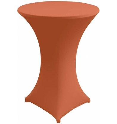 Unicover Cocktail-Tischhusse Stretch Venus | Orange | Erhältlich in 3 Größen