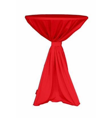 Unicover Cocktail-Tischhusse Jupiter | Rot Verfügbar in 2 Größen