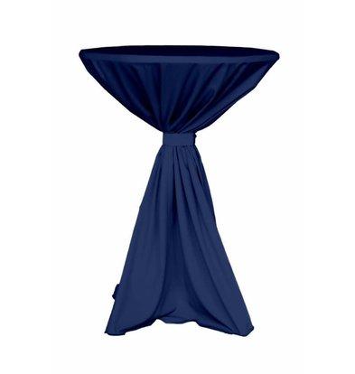 Unicover Cocktail-Tischhusse Jupiter | Dunkelblau | Verfügbar in 2 Größen