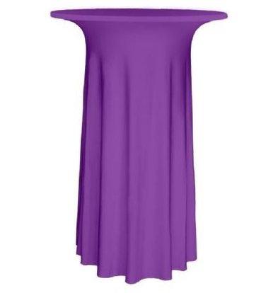 Unicover Cocktail-Tischhusse Stretch Deluxe | Lavendel | Erhältlich in 3 Größen