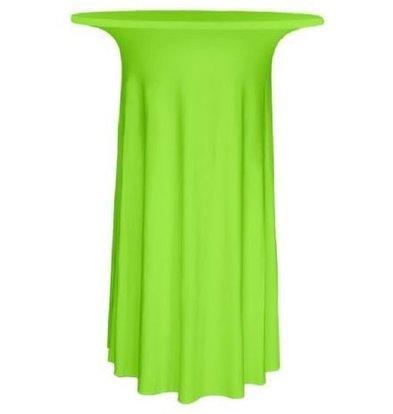 Unicover Cocktail-Tischhusse Stretch Deluxe | Hellgrün | Erhältlich in 3 Größen