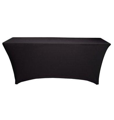 Unicover Tischhusse Saturn Stretch Rechteckig | Verfügbar in 2 Größen Schwarz