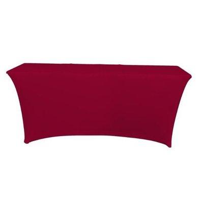Unicover Tischhusse Saturn Stretch Rechteckig | Verfügbar in 2 Größen Bordeaux
