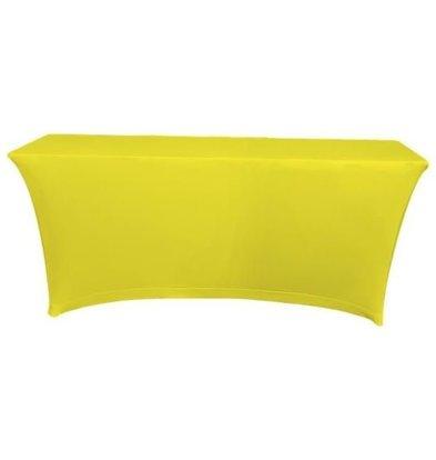 Unicover Tischhusse Saturn Stretch Rechteckig | Verfügbar in 2 Größen Gelb