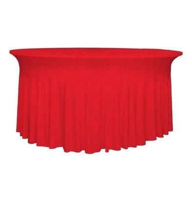 Unicover Tischhusse Stretch Deluxe | Rot Erhältlich in 3 Größen