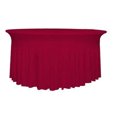 Unicover Tischhusse Stretch Deluxe | Bordeaux Erhältlich in 3 Größen
