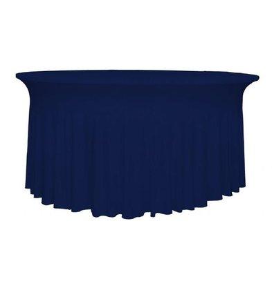 Unicover Tischhusse Stretch Deluxe | Dunkelblau | Erhältlich in 3 Größen