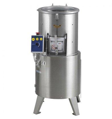 MEC Kartoffelschäler 650 kg pro Stunde 20kg pro Zyklus 450 x 500 x (H) 1000 mm