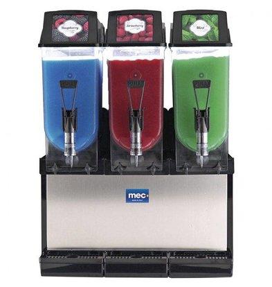 MEC Slusheis Maschine | 3x12 Liter Kapazität | 1220W | 585x510x(H)820mm