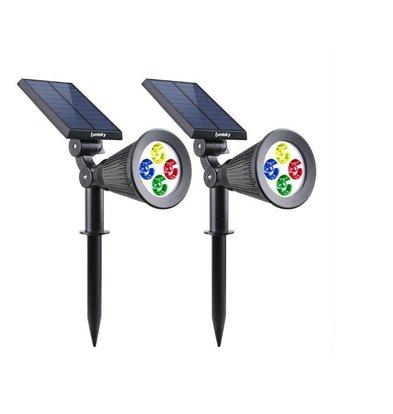 Lumisky Spiky W34 LED RGB Spots | 2200 mAh | 290x95x340mm | 2 Stück