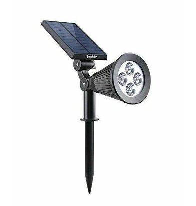 Lumisky Spiky Sensor Solar LED Spot Warmweiß | 2200 mAh | 235 x 215 x (H) 112 mm