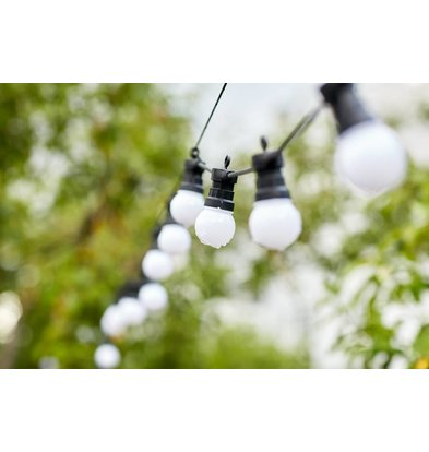 Lumisky Party Milk 20 Schnurbeleuchtung | 20 Lampen | 8,7 Meter Lang