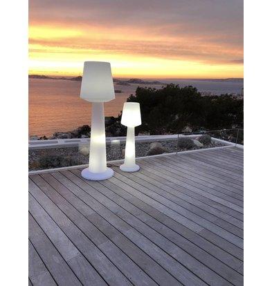 Lumisky Austral W170 Weiße Lampe | 335x335x(H)1100mm