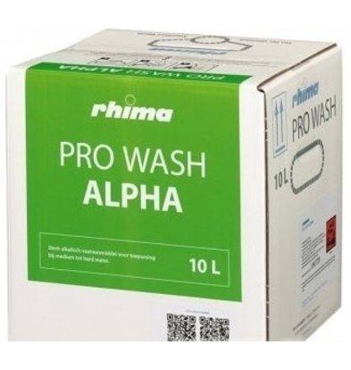 Rhima Geschirrspülmittel Pro Wash Alpha | Bag in Box 10 liter