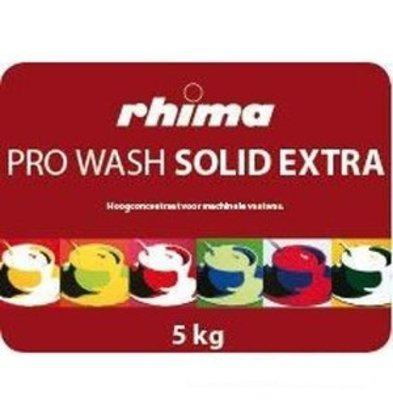 Rhima Geschirrspülmittel Pro Wash Solid Extra | Container 2 x 5kg