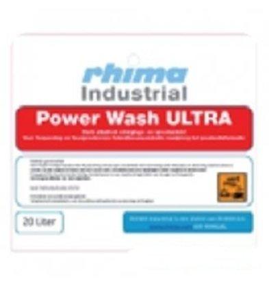 Rhima Geschirrspülmittel  Pro Wash Ultra | PE Kannister 20 Liter | Geeignet für Kistenspülmaschinen