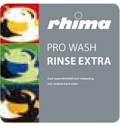 Rhima Nachspülmittel Pro Wash Rinse Extra | Bag in Box 10 liter