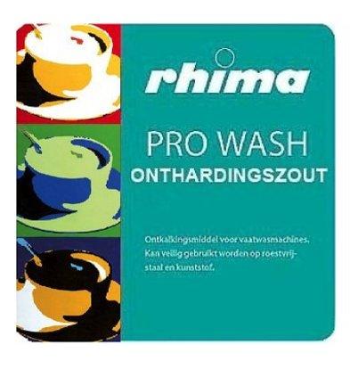Rhima Enthärtungssalz Pro Wash | Beutel  25kg