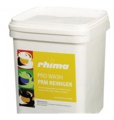 Rhima Geschirrspülmittel Pro Wash Powder PRM | Geeignet für Vorspülmaschinen | Eimer 150 Tüten