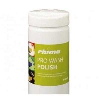 Rhima Pflegemittel  Pro Wash Polish | Karton 6 x 80 Tücher