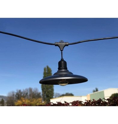 Lumisky Galva Schnurbeleuchtung | 10 Lampen | 6 Meter Lang