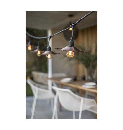 Lumisky Retro Schnurbeleuchtung  | 10 Lampen | 6 Meter Lang
